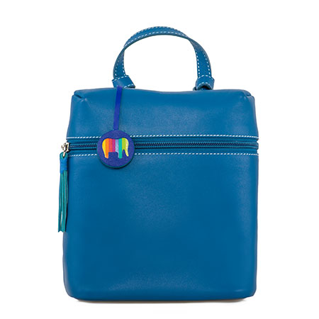 Bruges Mini Backpack-Sea Blue