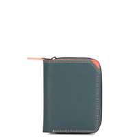 Small Zip Wallet-Urban Sky