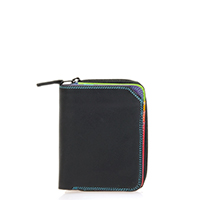Small Zip Wallet-Black/Pace