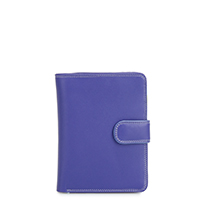 Large Snap Wallet-Lavender
