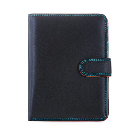 Large Snap Wallet-Black/Pace