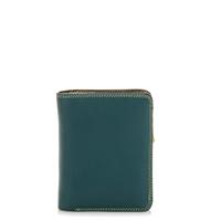 Medium Zip Wallet-Evergreen