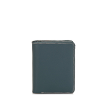 Medium Zip Wallet-Urban Sky