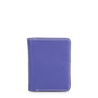 Medium Zip Wallet-Lavender