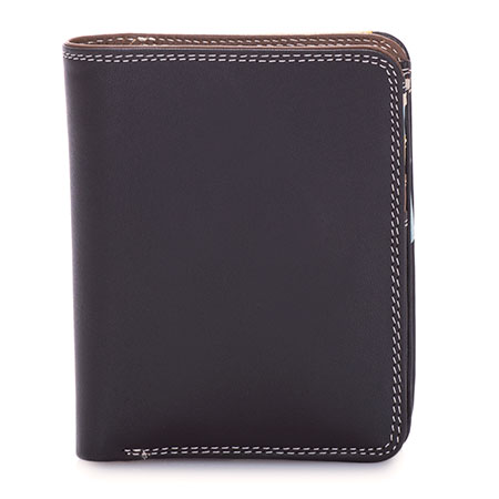 Medium Zip Wallet-Mocha