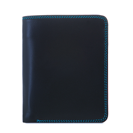 Medium Zip Wallet-Black/Pace