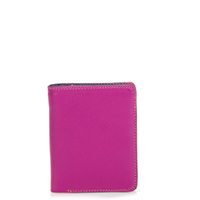 Medium Zip Wallet-Sangria Multi