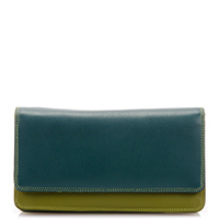 Medium Matinee Wallet-Evergreen