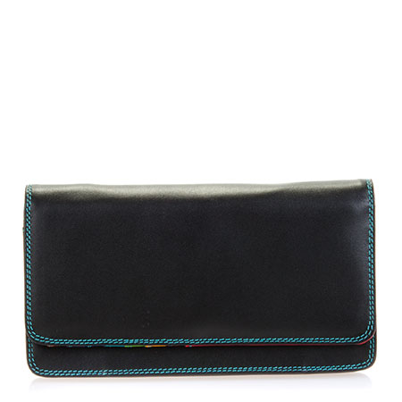 Medium Matinee Wallet-Black/Pace