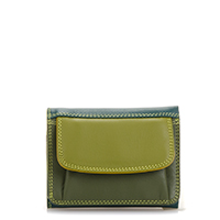 Mini Tri-fold Wallet-Evergreen
