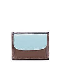 Mini Tri-fold Wallet-Mocha