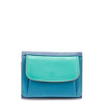 Mini Tri-fold Wallet-Aqua
