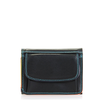 Mini Tri-fold Wallet-Black/Pace