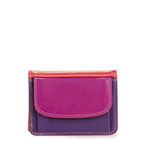 Mini Tri-fold Wallet-Sangria Multi