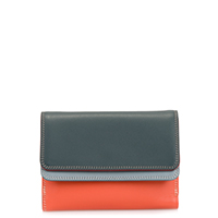 Double Flap Purse/Wallet-Urban Sky