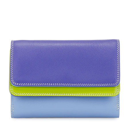 Double Flap Purse/Wallet-Lavender