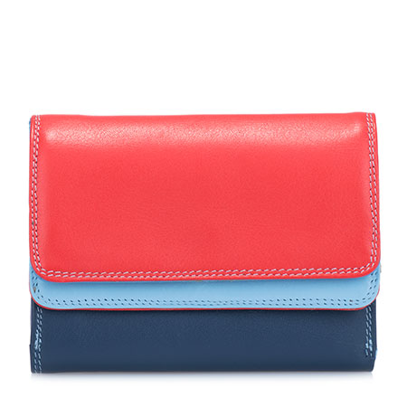 Double Flap Purse/Wallet-Royal
