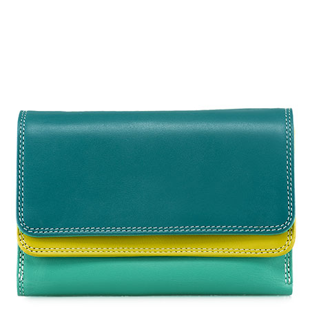 Double Flap Purse/Wallet-Mint