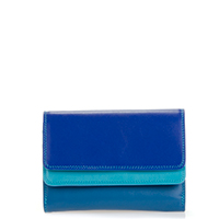 Double Flap Purse/Wallet-Seascape