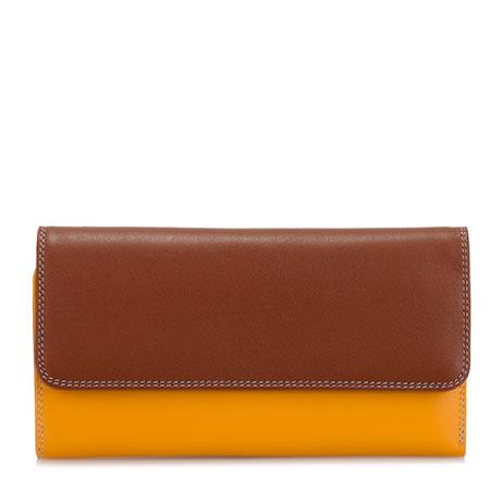 Tri-fold Zip Wallet-Siena