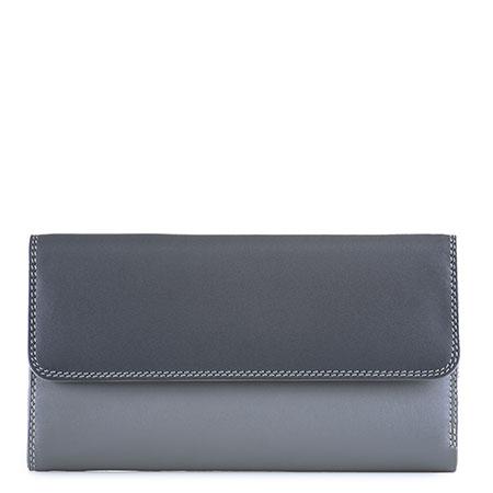 Tri-fold Zip Wallet-Storm