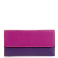 Tri-fold Zip Wallet-Sangria Multi