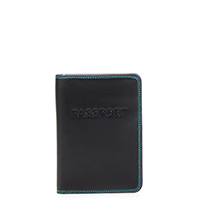 Passport Cover-Black/Pace