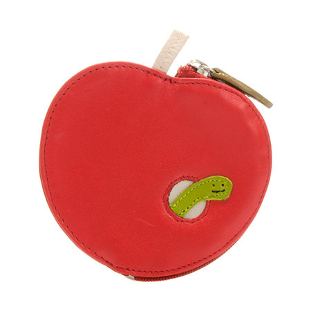 Fruits Apple Purse-Red