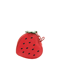 Fruits Strawberry Purse-Red