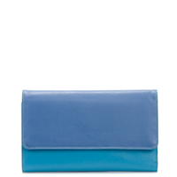 Checkbook Holder/Wallet-Aqua