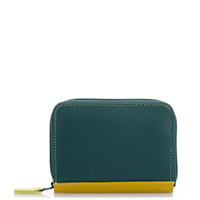 Zipped Credit Card Holder-Evergreen