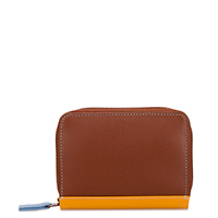 Zipped Credit Card Holder-Siena