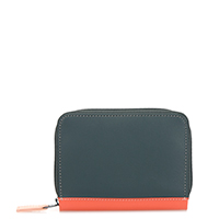 Zipped Credit Card Holder-Urban Sky