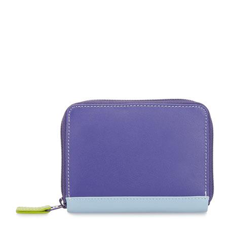 Zipped Credit Card Holder-Lavender