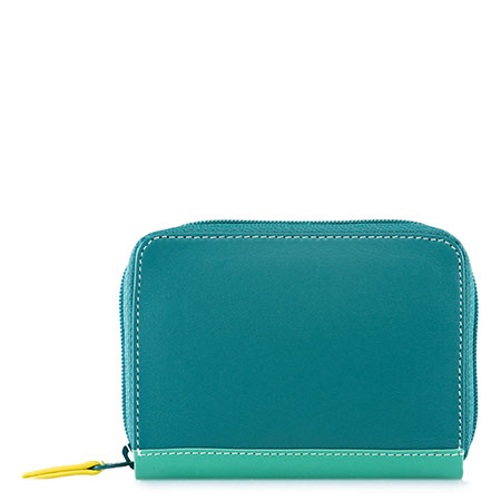 Zipped Credit Card Holder-Mint