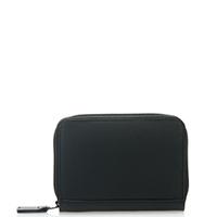 Zipped Credit Card Holder-Black