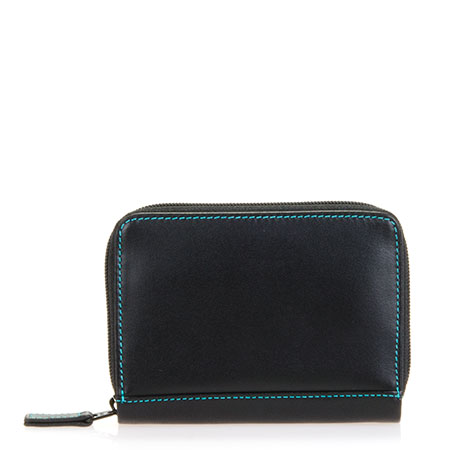 Zipped Credit Card Holder-Black/Pace