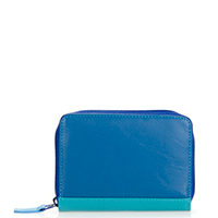 Zipped Credit Card Holder-Seascape