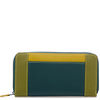 Large Zip Wallet-Evergreen