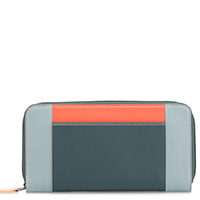 Large Zip Wallet-Urban Sky