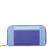 Large Zip Wallet-Lavender