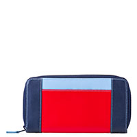 Large Zip Wallet-Royal