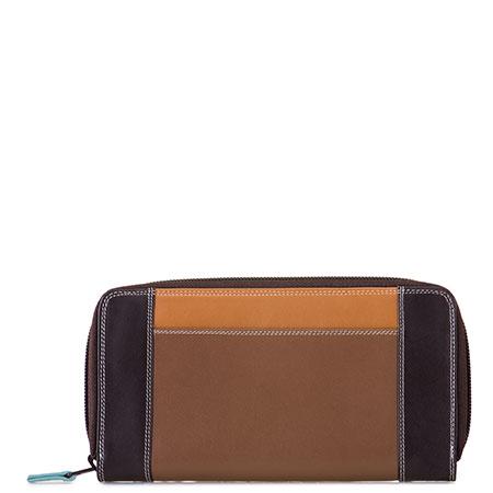 Large Zip Wallet-Mocha