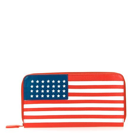 Large Zip Wallet-USA