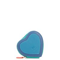 Heart Purse-Aqua
