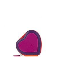 Heart Purse-Sangria Multi