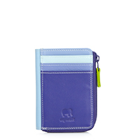 Small Zip Purse-Lavender