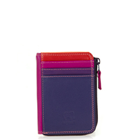 Small Zip Purse-Sangria Multi