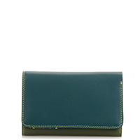 Medium Tri-fold Wallet-Evergreen