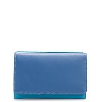 Medium Tri-fold Wallet-Aqua
